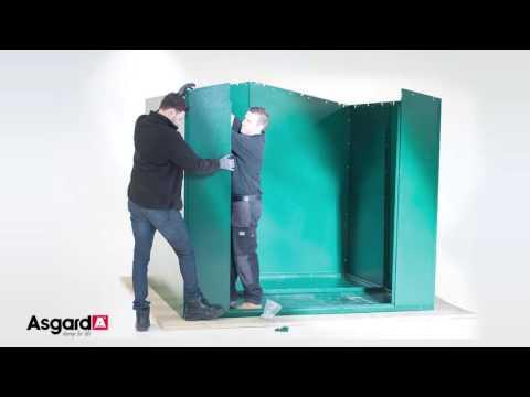 Asgard Gladiator Metal Shed 7X7