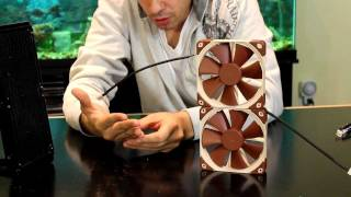 Noctua NF-F12 PWM 120MM Case Fan Unboxing/First Look