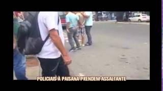 Policiais � paisana prendem assaltante no Centro de Belo Horizonte