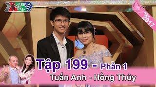 Hài hước với hành trình yêu nhau của vợ chồng 'chị em' | Tuấn Anh - Hồng Thủy | VCS #199 😘