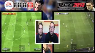 Comparativa FIFA 13 Vs PES 13