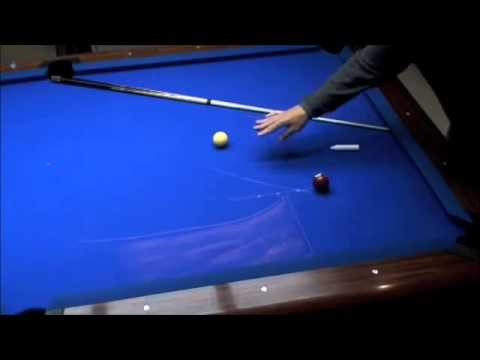 Mastering Pool ( Mika Immonen ) billiard Training cue ball control