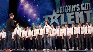 Only Boys Aloud The Welsh Choir's Britain's Got Talent