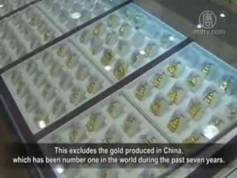 Trung Quốc âm mưu đầu cơ vàng thế giới?