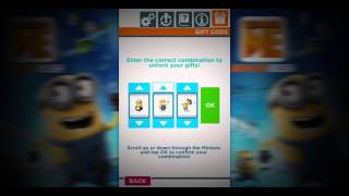 Video Minion Rush Gift Codes December 2013