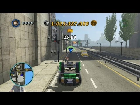 LEGO Marvel Super Heroes - S.H.I.E.L.D. Staff Car Unlocked + Vehicle Showcase (Vehicle Token Guide)