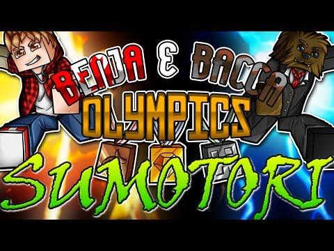 Minecraft: Benja & Bacca Olympics Game 11 - SUMOTORI
