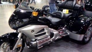 2013 Honda Gold Wing Trikes Vs 2013 Harley Davidson Trike