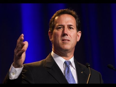 Rick Santorum: Gay Marriage Discourages Straight Marriage