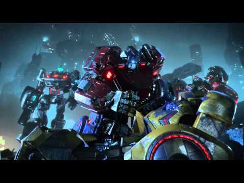 Transformers Fall of Cybertron Cinematic Trailer cinematic trailer with Puscifer Maynard Jovovich