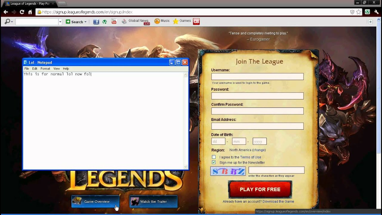how to create pbe account