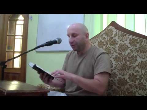 5 сентября 2013 Сатья прабху Шримад Бхагаватам 5 1 9 10 Николаев