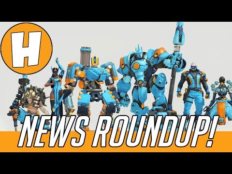 Overwatch League Skin Tokens, New Funkos + Winter Wonderland! (News Roundup) | Hammeh