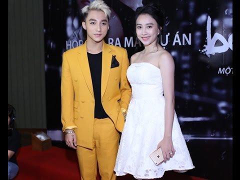 {VietStar Video} Sơn Tùng MTP và bạn gái họp báo MV Âm thầm bên em