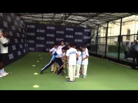 Ex India cricket star Sachin Tendulkar in Singapore
