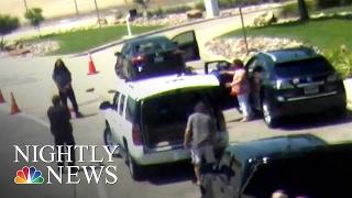 Love Field Shooting Caught on Surveillance Camera | NBC Nightly News