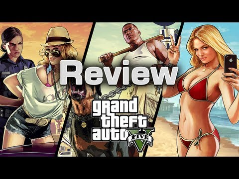 Grand Theft Auto V - Review,