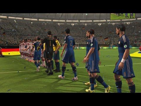 2014 Fifa World Cup - Final Argentina Vs Alemania, Partidazo y Celebración de la Copa del Mundo
