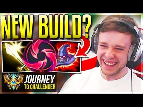 DID I DISCOVER A NEW BUILD????? Sleeper OP - Journey To Challenger | League of Legends
