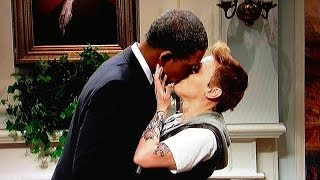 SNL Reviewed: Louis C.K .and the Obama Bieber Kiss
