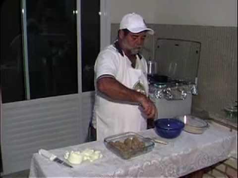 Receitas do Gilmar - Almôndega de arroz e feijão