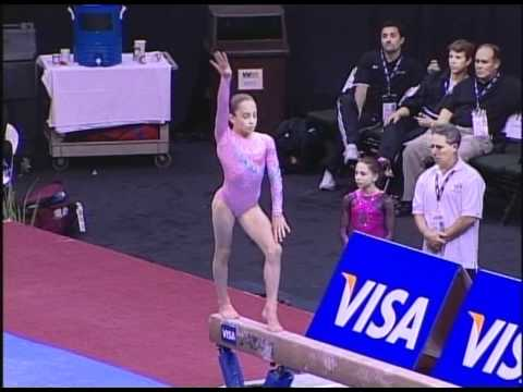 Jordyn Wieber (Geddert's)  - 2006 US Jr Nationals - Beam (Day 1)