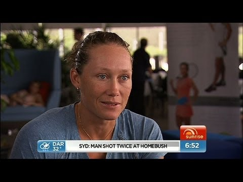 Sunrise - One-on-one with Sam Stosur