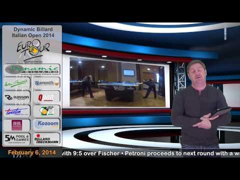 EPBF Video News Dynamic Billard Italian Open 2014