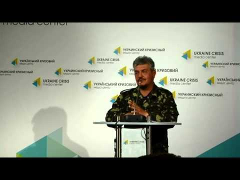 (English) Volodymyr Volkov. Ukraine crisis media center, 19th of June, 2014