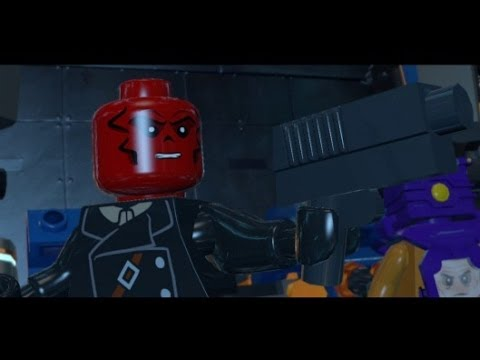 LEGO Marvel Super Heroes 100% Walkthrough Part 6 - Red ...