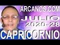 Video Horóscopo Semanal CAPRICORNIO  del 5 al 11 Julio 2020 (Semana 2020-28) (Lectura del Tarot)