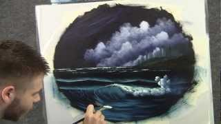 """Paint With Kevin Hill A 14 Minute Oil Painting """"Moonlit"""