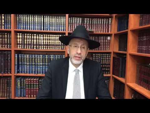 Respectes les rabanim Dedie pour la reussite de Mike Sultan
