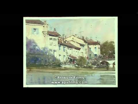Rural France in Watercolour by Joseph Zbukvic