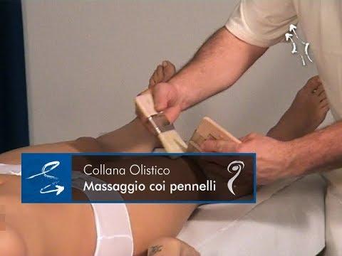 Massaggio con i pennelli - Estratto del videocorso