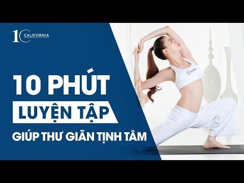 YOGA FOR LIFE - 10 phút tập luyện giúp bạn THƯ GIÃN & TĨNH TÂM cùng Hồ Ngọc Hà