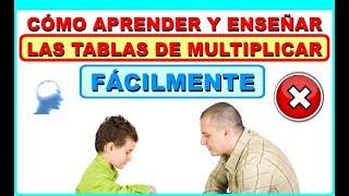 Aprender la tabla de multiplicar