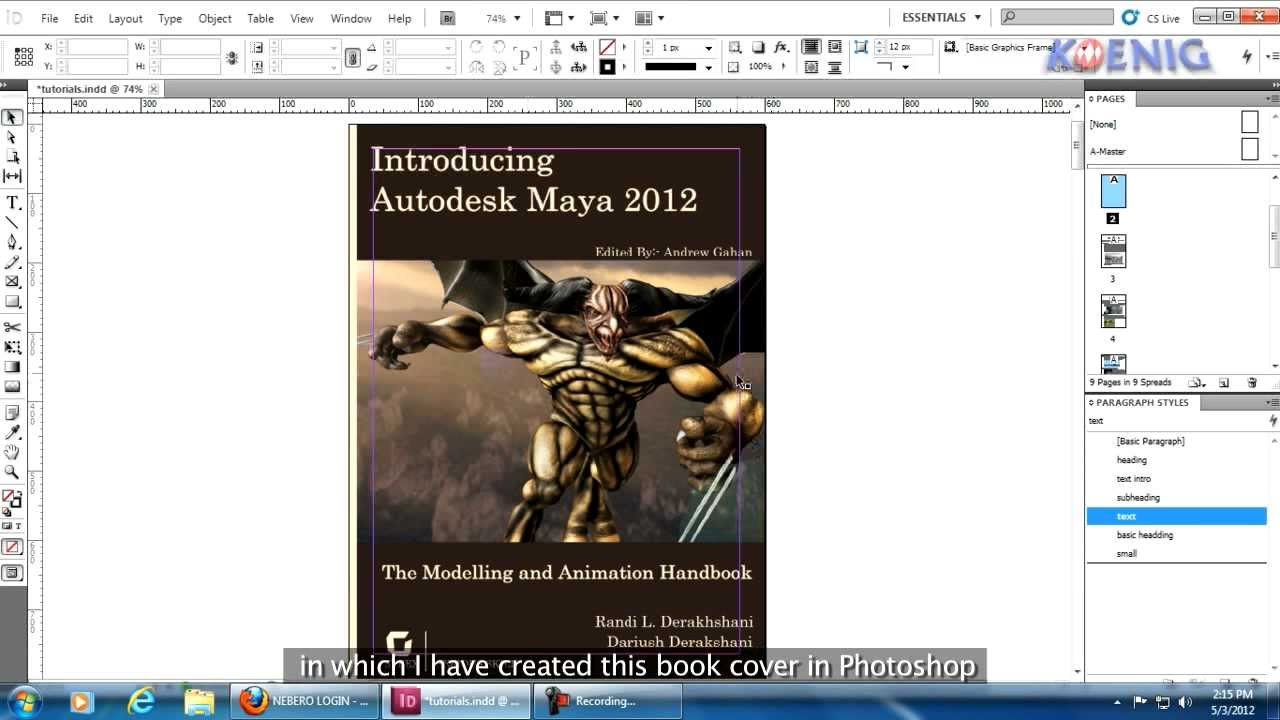 how to create guides in indesign