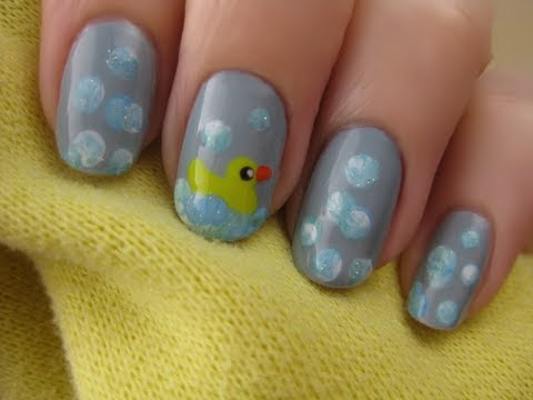 - Rubber Duck Nails - Nail Designs Video
