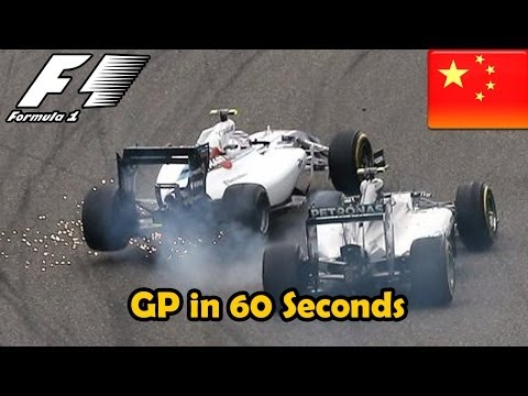 GP Described in 60s - F1 2014: Chinese Grand Prix