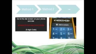 How To Unlock Samsung Galaxy S3 Mini I8190 Via Code (all 3