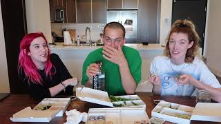 EATING $100 WORTH OF SUSHI w/ Chris Klemens (MUKBANG)