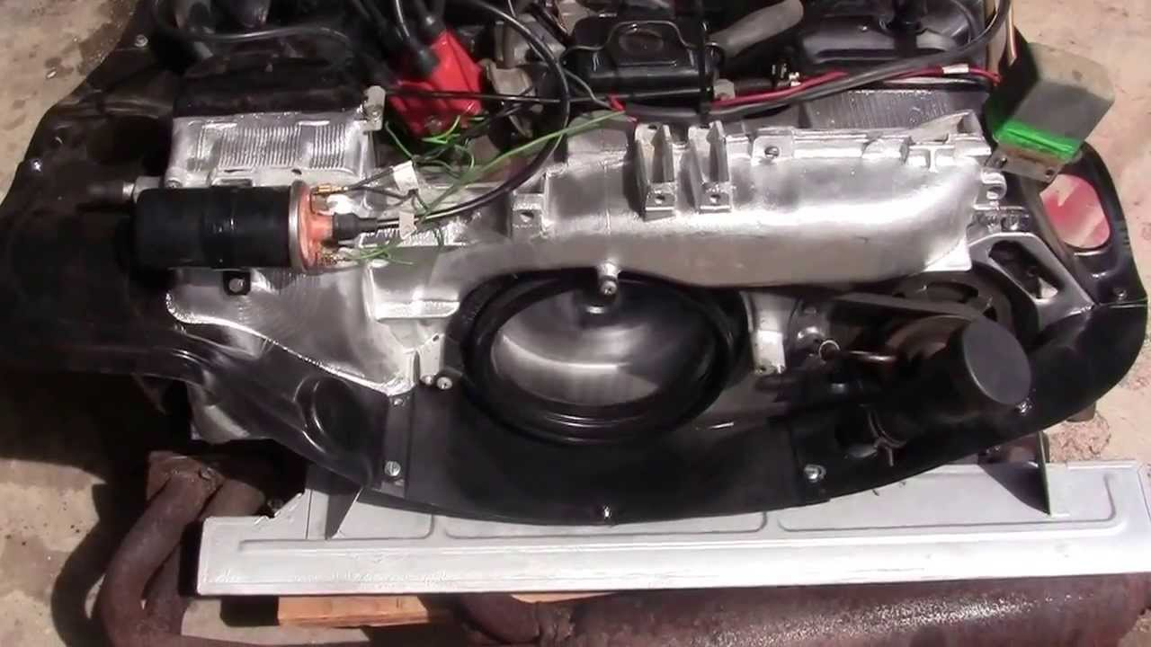 Rebuilt Vw Type 4 1700cc Engine For Sale Youtube