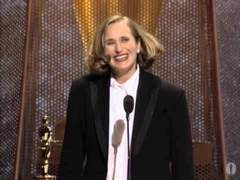 Jane Campion winning Best Original Screenplay for
