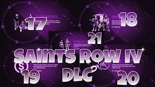 Saints Row IV DLC - College Daze Pack, Game On Pack   3 More DLC view on youtube.com tube online.