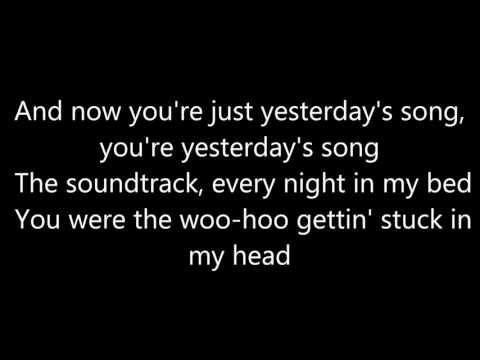 Hunter Hayes - Yesterday's Song (Lyrics)