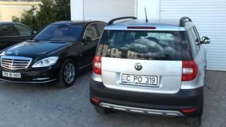 Vedeți cum vorbesc și ce mașini vin la Mitropolie