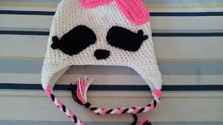 Tutorial Crochet Monster High Beanie