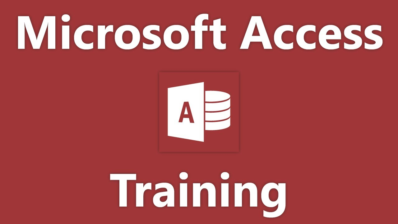 how to use microsoft access to create a database