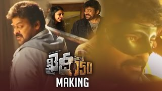 Khaidi No 150 Movie Making Video - Chiranjeevi, Kajal..